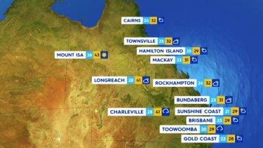 Thursday, December 3: Australia's east coast will see cooler temperatures after recent heat waves, with snowfall in Tasmania.