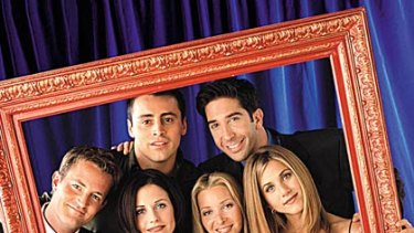 """Are women's expectations being raised by television shows like """"Friends""""?"""