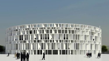 The Assemblage design for the Iraqi parliament.
