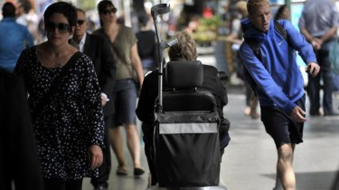 People with disability are more than twice as likely to be in living poverty than other people in our country, says ACOSS's Cassandra Goldie.