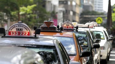 From the end of the month, cab drivers in Brisbane and the Gold Coast will be required to display ID cards in their taxis.