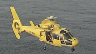 One of the new helicopters being ordered by the WA police.