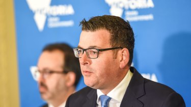 "Victorian Premier Daniel Andrews dismissed concerns about civil liberties as a ""luxury"""