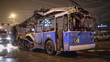 A bomb ripped apart this bus in Volgograd this week, killing 14 people.