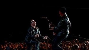 U2 live in Sydney