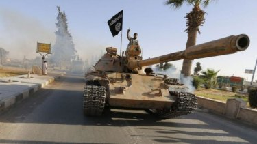On a roll: Islamic militants have carved a swathe through the Middle East.