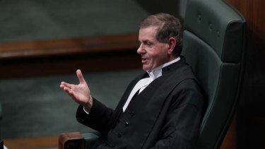 Peter Slipper in parliament earlier this year.