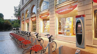 The public bicycle scheme has been a success in France.