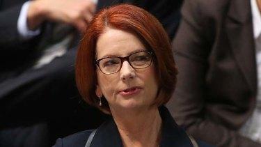 Keeping mum: Julia Gillard said careless talk could threaten jobs.