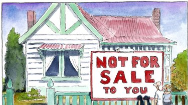 Property market woes.