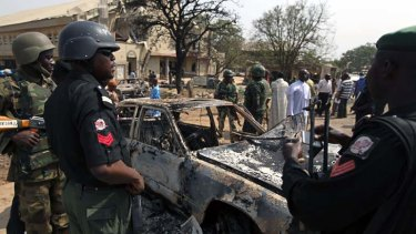 JANUARY 5 Nigeria ... Gunmen burst into a church killing at least five people in a  co-ordinated campaign against the country's Christians.