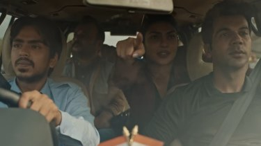 The ambitious driver (Adarsh Gourav) of a rich Indian couple (Priyanka Chopra Jonas and Rajkummar Rao) uses his wit and cunning to escape from poverty and become an entrepreneur. The White Tiger is based on the bestselling novel by Aravind Adiga, directed and written for the screen by Ramin Bahrani and executive produced by Ava DuVernay, Priyanka Chopra Jonas and producer Mukul Deora.