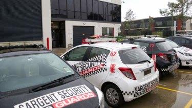 The Sargent Security premises at Glendenning.