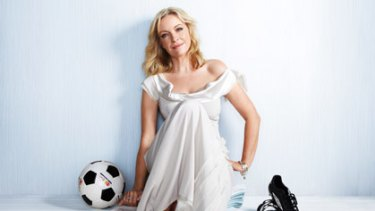 Family affair ... Actress and working mother Rebecca Gibney.