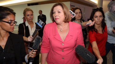 FOI documents have revealed retiring Brisbane MP Teresa Gambaro ignored departmental advice to move into an electorate office with LNP links.