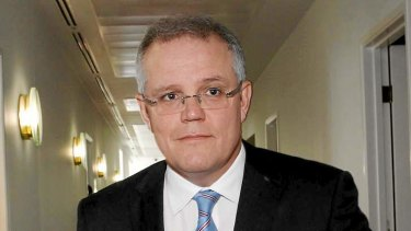 Scott Morrison has defended the way the Coalition releases information on boat arrivals.