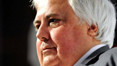 Clive Palmer and wife Anna have spoken out about their relationship.