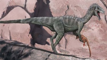 The ceratosaur ... an artist's impression.