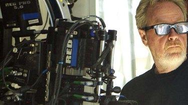 Director Ridley Scott.