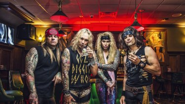 Steel Panther: little more than cynical nastiness.