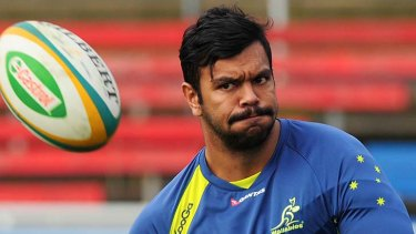 Kurtley Beale will play for the Wallabies for the first time this season.