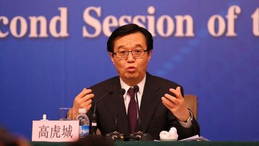 """""""We are willing to work together with the Australian side"""": China Commerce Minister Gao Hucheng."""