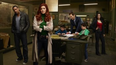 Killer queen: Debra Messing is a brilliant detective in The Mysteries of Laura.