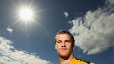 Hard getting used to … Pat McCabe had to brave the surprise of Wallabies fans at his rise to prominence this year but the Queensland centre has put in hard yards, nationally and internationally, despite his relative youth.