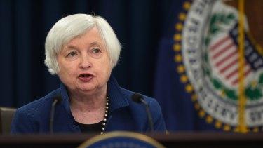 Federal Reserve Chairman Janet Yellen