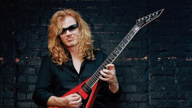 Dave Mustaine from Megadeth will perform with his band at the No Sleep Til festival.