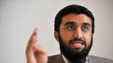 'Protest against aggression': Hitzb ut-Tahrir spokesman Uthman Badar.