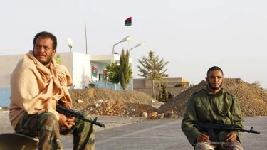 Lockdown ... Tripoli residents have until December 31 to hand in their firearms.