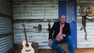 James Blundell is performing in Canberra on May 5.