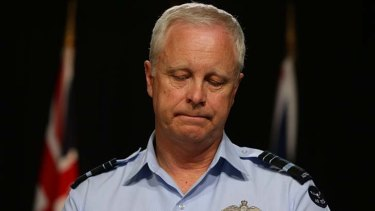"""Enough is enough"": Vice Chief of the Defence Force, Air Marshal Mark Binskin."