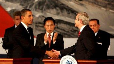 Barack Obama & Kevin Rudd