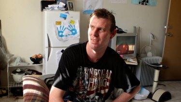 """You give up on life"" ... Glen Moutelik struggles to get by on Newstart."