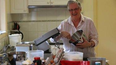 Third generation baker: Barbara Goldman at home in Normanhurst.