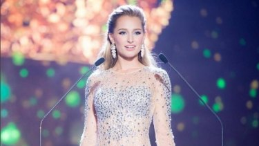 Australian Claire Parker has replaced Anea Garcia as the new Miss Grand International.