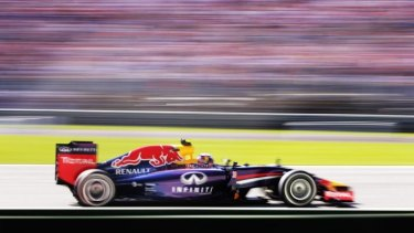 Daniel Ricciardo drives during practice ahead of the Italian Grand Prix in September.