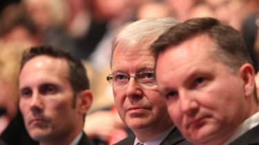 """""""The government was beginning to be seen by a portion of the population as lacking a core purpose and being driven by spin"""" ... a secret Labor Party report revealed about Kevin Rudd's administration."""