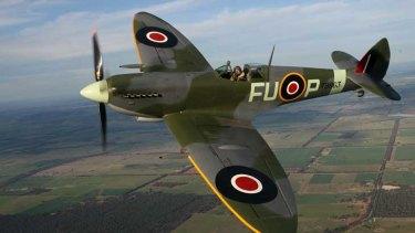A World War II Spitfire.