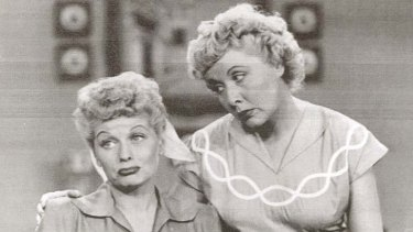 Lucille Ball (left) and co-star Vivienne Vance changed views on women and marriage.