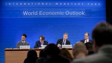 Cash bonus ... International Monetary Fund officials in Washington announced today that Australia will have the top-performing economy in the developed world for the next two years.