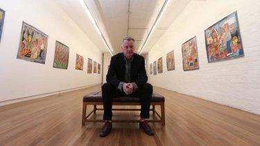 Damien Minton in his Redfern gallery.