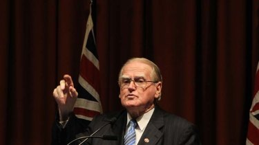 """The government has to respect that we have influence"" ... Fred Nile of the Christian democrats."