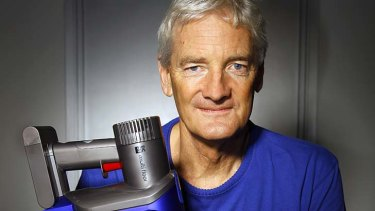"""I'm not rushing out a gimmick robot"" ... James Dyson."