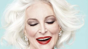 """""""I fix everything I possibly can"""" … Carmen Dell'Orefice has no qualms about cosmetic surgery."""