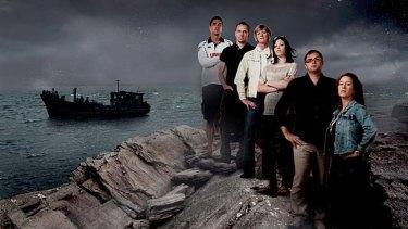 The show's cast.