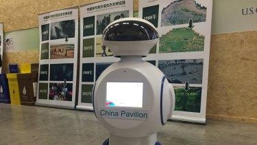 Robot at COP21