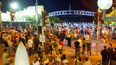 Up to 20,000 schoolies are expected to descend on Surfers Paradise this year.